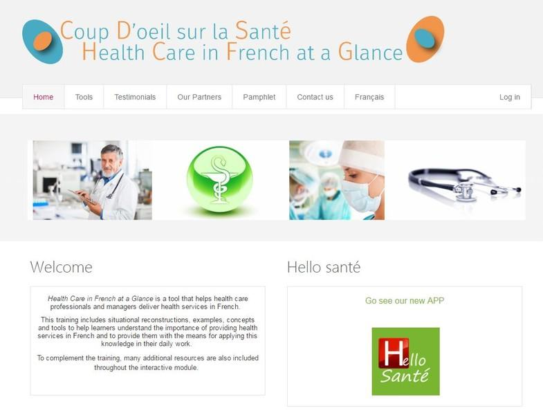 Health Care in French at a Glance Image 1