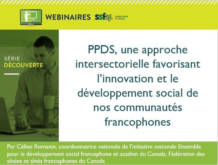 PPDS, une approche intersectorielle favorisant l'innovation  ... Image 1